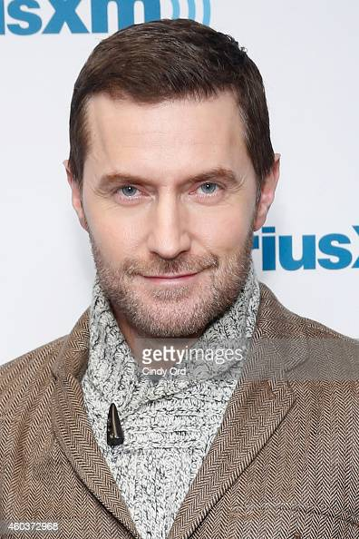 Actor Richard Armitage visits the SiriusXM Studios on December 12 2014 in New York City