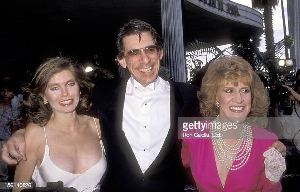 Actor Richard Belzer and wife Harlee McBride and Actress Ruth Buzzi attend the Third Annual American Comedy Awards on May 23 1989 at Hollywood...