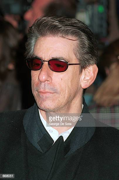 Actor Richard Belzer attends the premiere of 'The Legend Of Bagger Vance' at the Sony Lincoln Square Theater October 29 2000 in New York City