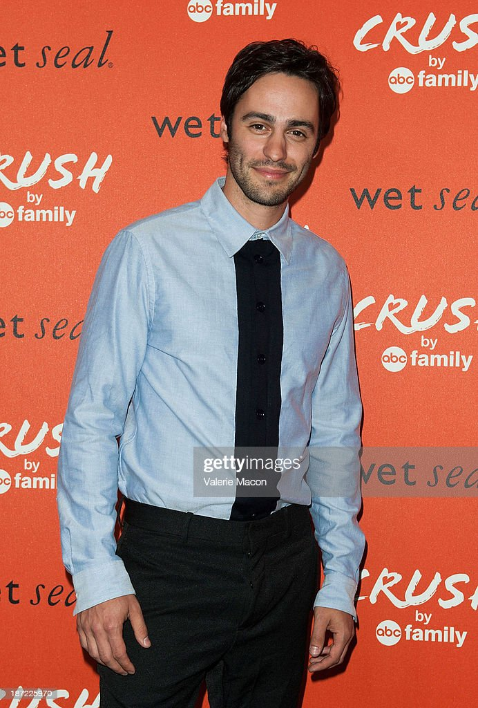 Actor Richard Brancatisano arrives at the Launch Celebration Of Crush By ABC Family at The London Hotel on November 6, 2013 in West Hollywood, California.