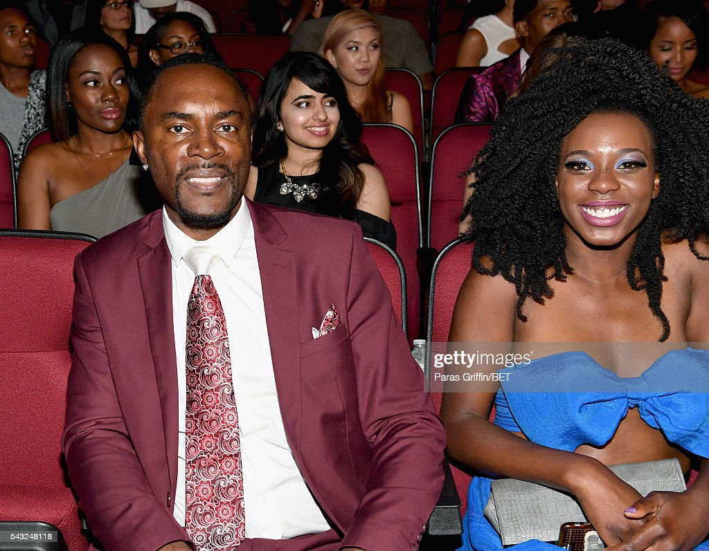 Actor Richard Brooks (L) attends the 2016 BET Awards at the Microsoft Theater on June 26, 2016 in Los Angeles, California.