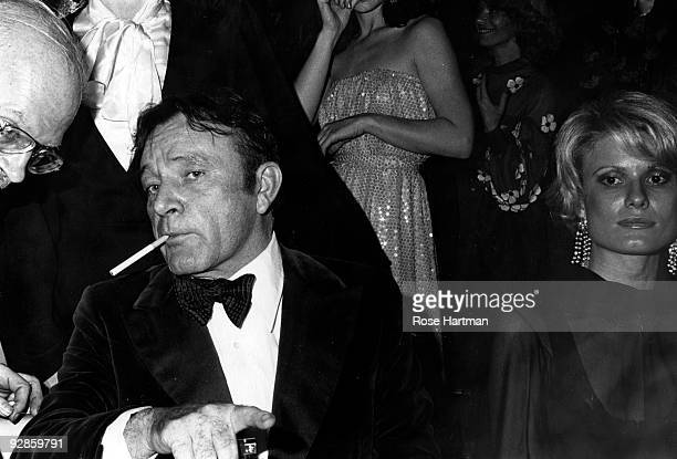 Actor Richard Burton and his former wife Suzi ca 1970s