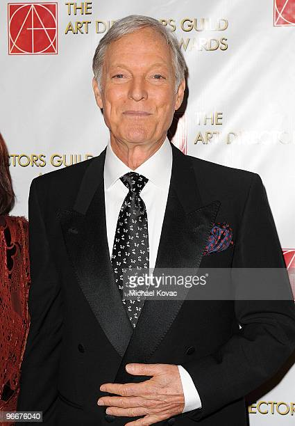 Actor Richard Chamberlain arrives at the 14th Annual Art Directors Guild Awards at The Beverly Hilton Hotel on February 13 2010 in Beverly Hills...
