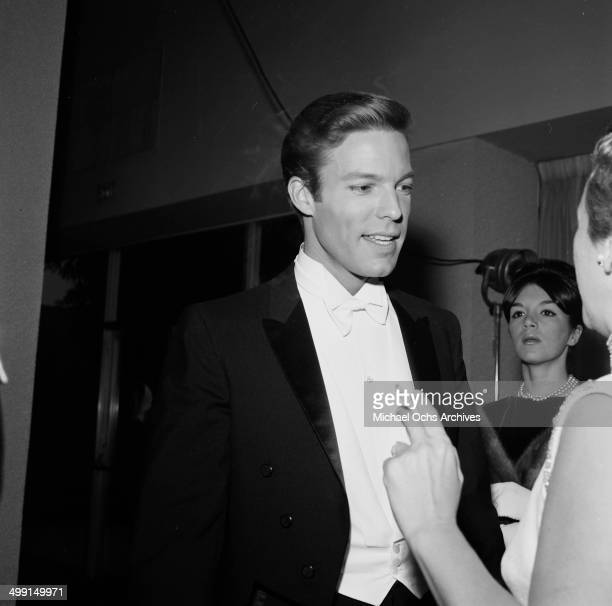 Actor Richard Chamberlain attends the Golden Globes in Los Angeles California