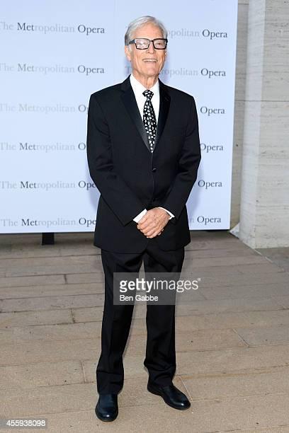 Actor Richard Chamberlain attends the Metropolitan Opera Season Opening at The Metropolitan Opera House on September 22 2014 in New York City