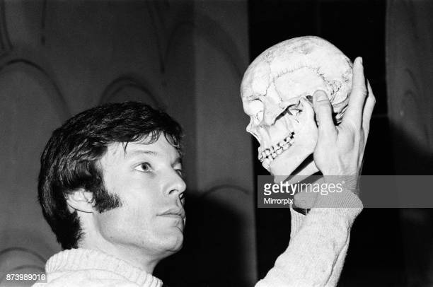 Actor Richard Chamberlain pictured at Birmingham Repertory Theatre during rehearsals for Hamlet in which Chamberlain plays the lead role Chamberlain...