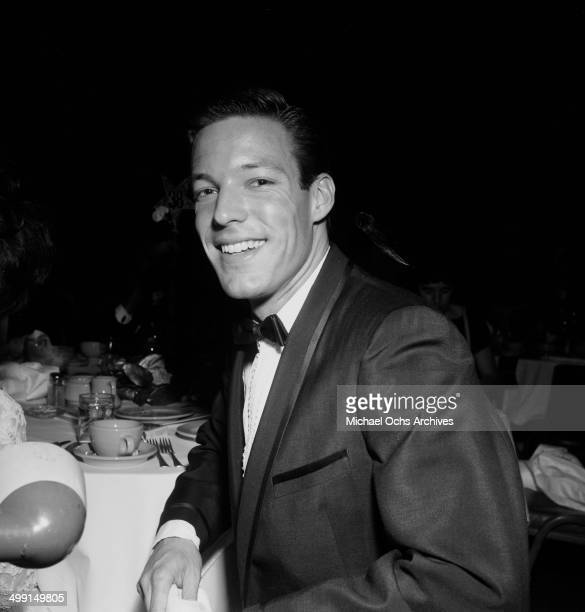 Actor Richard Chamberlain poses in Los Angeles California