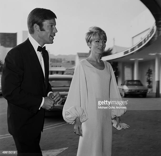 Actor Richard Chamberlain with Joan Marshall in Los Angeles California