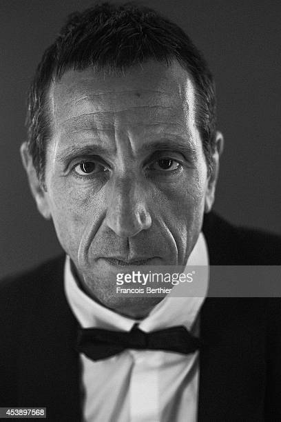 Actor Richard Chevallier is photographed for Self Assignment on May 21 2014 in Cannes France