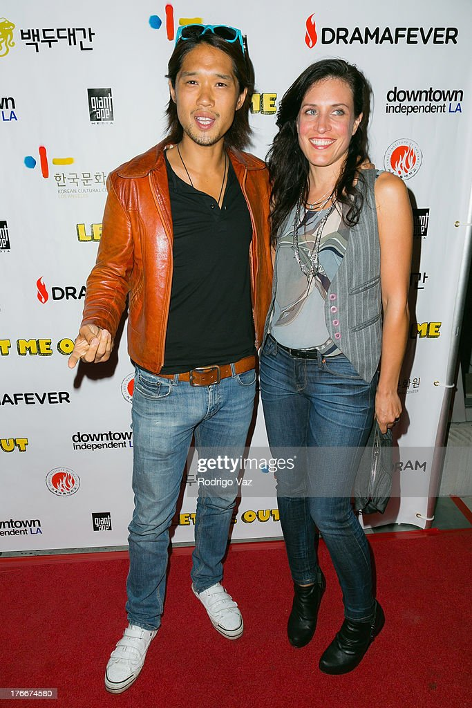 Actor Richard Chiu (L) attends 'Let Me Out' Los Angeles Premiere at Downtown Independent Theatre on August 16, 2013 in Los Angeles, California.