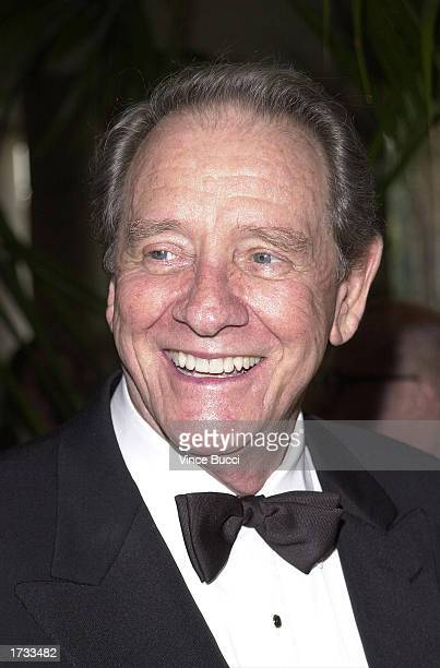 Actor Richard Crenna attends the 10th Annual Ella Awards April 25 2001 in Beverly Hills California Crenna died of pancreatic cancer January 17 2003...