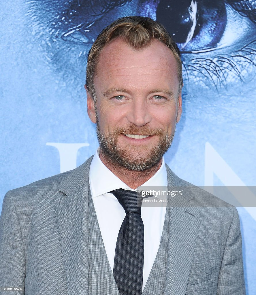 Actor Richard Dormer attends the season 7 premiere of 'Game Of Thrones' at Walt Disney Concert Hall on July 12, 2017 in Los Angeles, California.