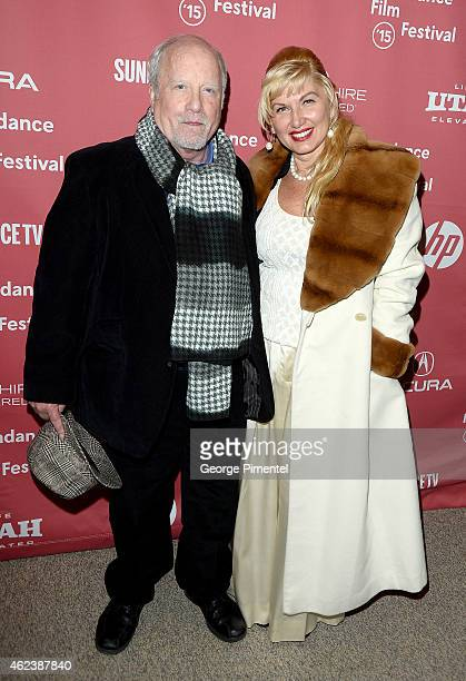 Actor Richard Dreyfuss and Svetlana Erokhin attend the 'Zipper' premiere during the 2015 Sundance Film Festival on January 27 2015 in Park City Utah
