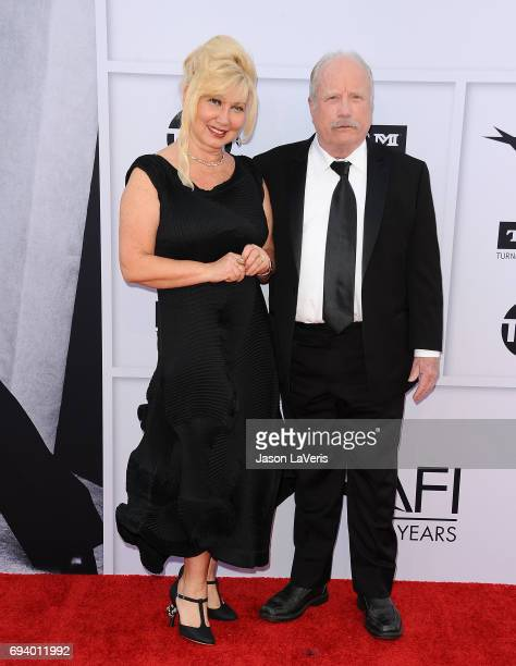 Actor Richard Dreyfuss and wife Svetlana Erokhin attend the AFI Life Achievement Award gala at Dolby Theatre on June 8 2017 in Hollywood California