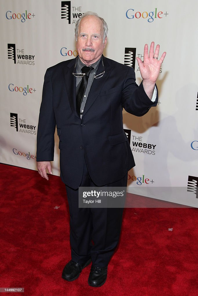 Actor Richard Dreyfuss attends the 16th Annual Webby Awards at Hammerstein Ballroom on May 21, 2012 in New York City.