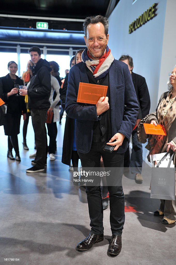 Actor Richard E. Grant attends the Jasper Conran show during London Fashion Week Fall/Winter 2013/14 at Somerset House on February 16, 2013 in London, England.
