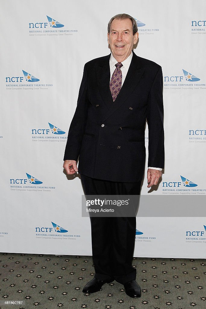 Actor Richard Easton attends the 2014 National Corporate Theatre Fund Chairman's Awards Gala at The Pierre Hotel on March 31, 2014 in New York City.