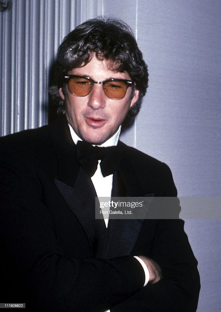 Actor Richard Gere attends the American Museum of the Moving Image Salute to Sidney Lumet on November 11, 1985 at the Waldorf-Astoria Hotel in New York City.