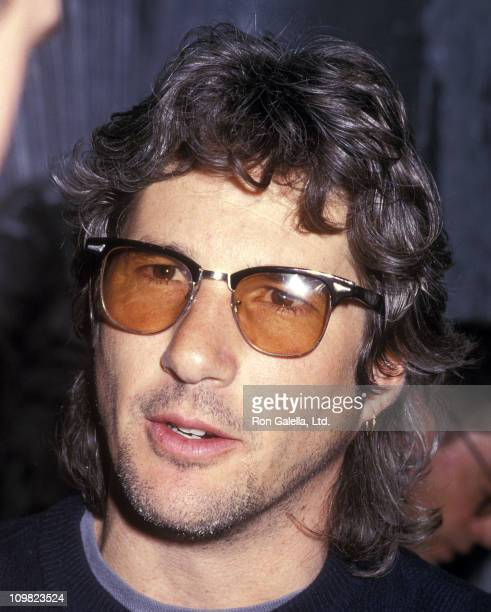 Actor Richard Gere attends the Andy Warhol's Memorial Luncheon on April 1 1987 at the Diamond Horseshoe Restaurant in New York City