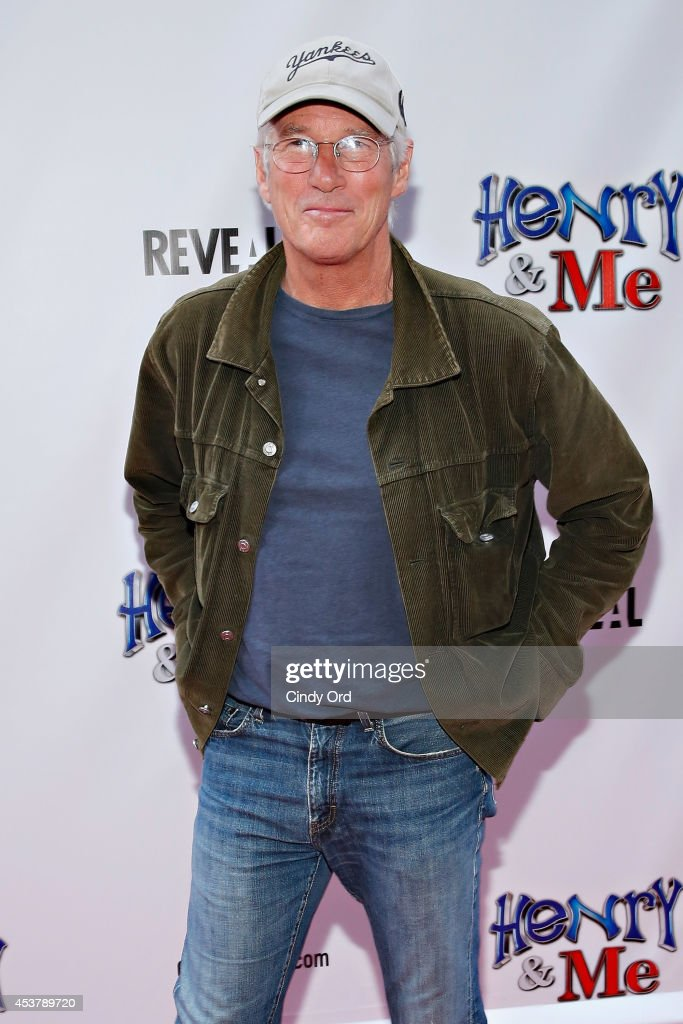 Actor <a gi-track='captionPersonalityLinkClicked' href=/galleries/search?phrase=Richard+Gere&family=editorial&specificpeople=202110 ng-click='$event.stopPropagation()'>Richard Gere</a> attends the 'Henry & Me' New York Premiere at Ziegfeld Theatre on August 18, 2014 in New York City.