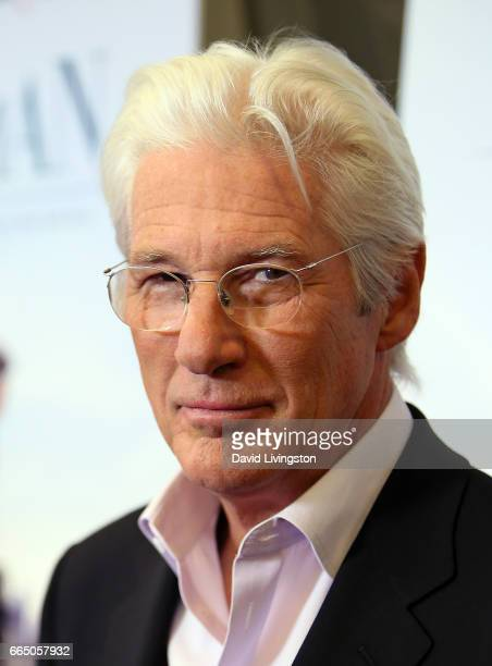 Actor Richard Gere attends the LA special presentation of Sony Pictures Classics' 'Norman' at the Linwood Dunn Theater at the Pickford Center for...