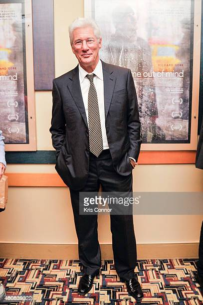 Actor Richard Gere attends the 'Time Out Of Mind' Washington DC Screening at Landmark E Street Cinema on July 15 2015 in Washington DC