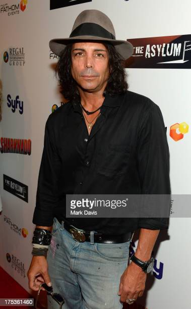 Actor Richard Greico attends 'Fathom Events Presents The Premiere Of The Asylum And Syfy's 'Sharknado' screening' on August 2 2013 in Los Angeles...