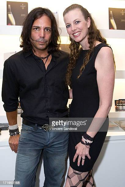 Actor Richard Grieco and Michelle Pangborn attends the 4th annual Art Project Los Angeles VIP cocktail event benefiting AIDS Project Los Angeles at...