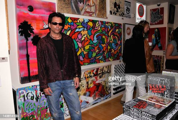 Actor Richard Grieco arrives at the grand openng for the LAB ART at Mondrian art gallery at Mondrian Los Angeles on May 3 2012 in West Hollywood...