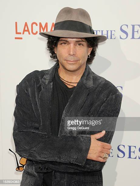 Actor Richard Grieco arrives at the Los Angeles premiere of 'The Sessions' at Bing Theatre At LACMA on October 10 2012 in Los Angeles California