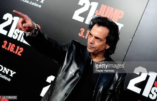 Actor Richard Grieco arrives at the Premiere Of Columbia Pictures' '21 Jump Street' at Grauman's Chinese Theatre on March 13 2012 in Hollywood...
