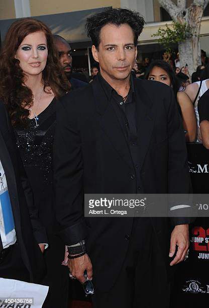 Actor Richard Grieco arrives for the Premiere Of Columbia Pictures' '22 Jump Street' held at Regency Village Theatre on June 10 2014 in Westwood...