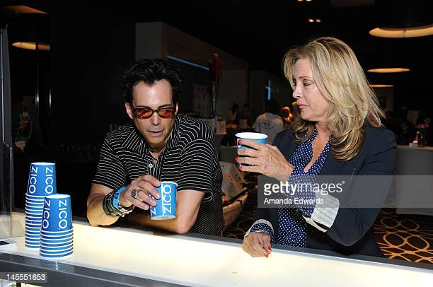 Actor Richard Grieco attends Kari Feinstein's MTV Movie Awards Style Lounge at the W Hollywood on June 1 2012 in Hollywood California