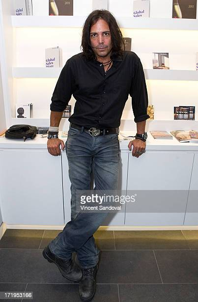 Actor Richard Grieco attends the 4th annual Art Project Los Angeles VIP cocktail event benefiting AIDS Project Los Angeles at Bonhams Butterfields on...