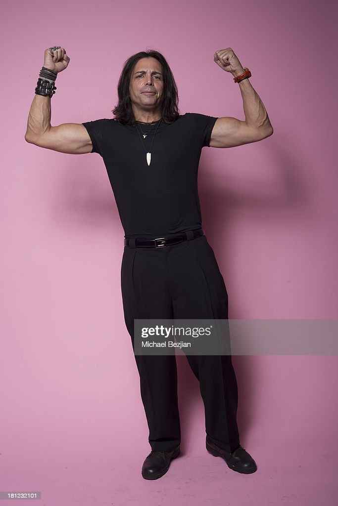 Actor Richard Grieco poses for a portrait at Mark Kearney Group - 'Iced Out' Luxury Emmy Suite on September 19, 2013 in Los Angeles, California.