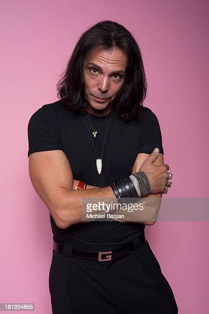 Actor Richard Grieco poses for a portrait at the Mark Kearney Group 'Iced Out' Luxury Emmy Suite on September 19 2013 in Los Angeles California