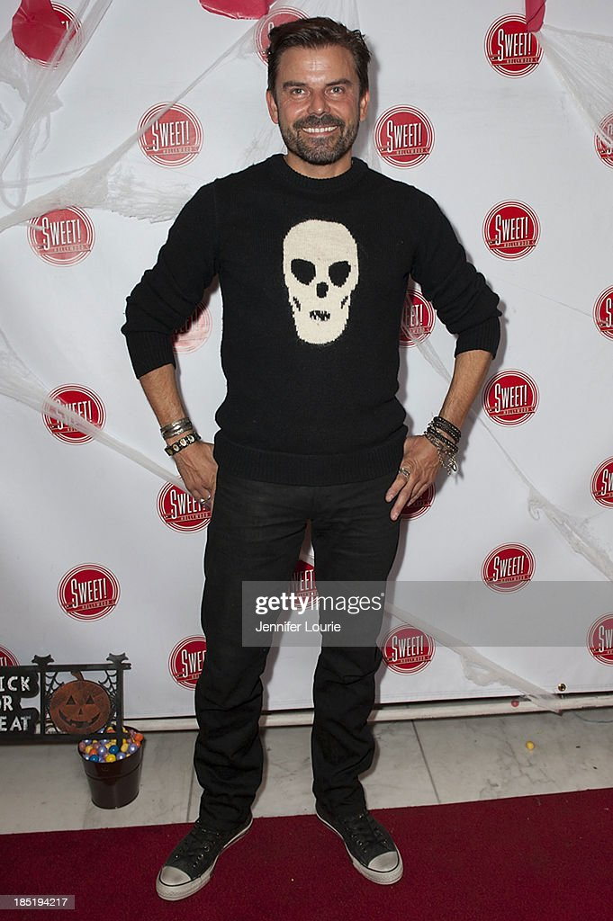 Actor Richard Halverson attends the former Pussycat Doll Kaya Jone's 'Halloween Doll' celebratory event at Sweet! Hollywood Boutique on October 17, 2013 in Hollywood, California.