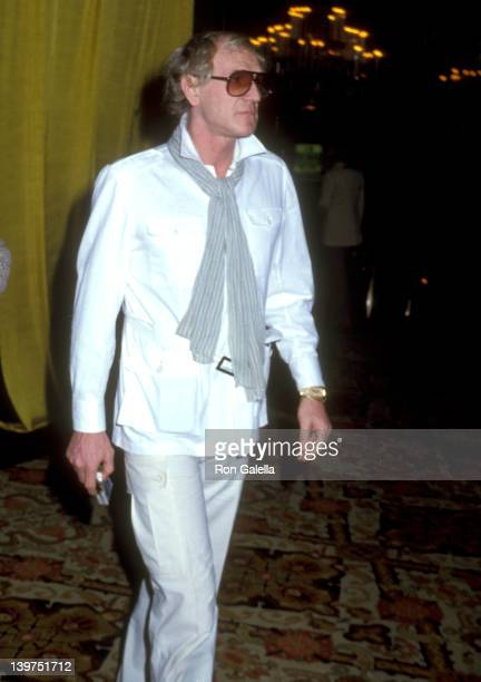 Actor Richard Harris attends the 36th Annual Golden Globe Awards Rehearsals on January 26 1979 at Beverly Hilton Hotel in Beverly Hills California