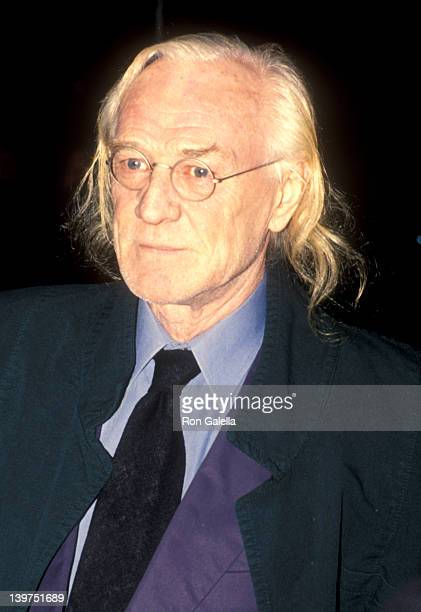 Actor Richard Harris attends the 'Ready to Wear' New York City Premiere on December 12 1994 at Ziegfeld Theater in New York City New York
