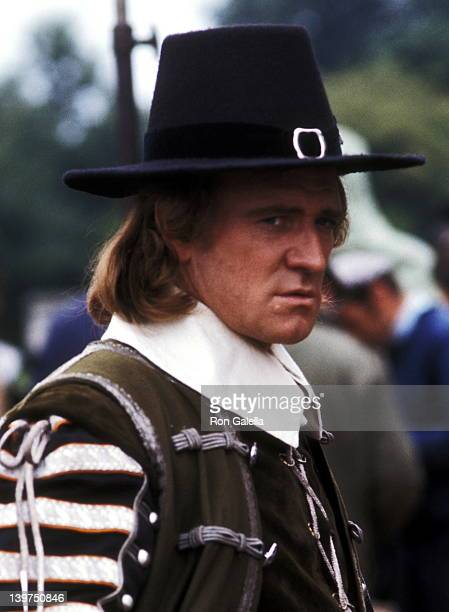 Actor Richard Harris on September 1 1969 on the set of the movie 'Cromwell' at Shepperton Studios in Shepperton England