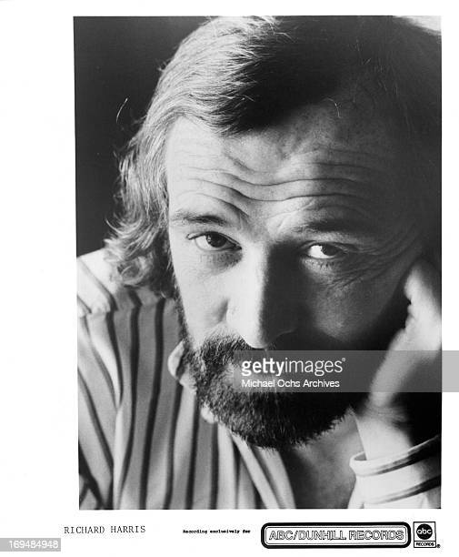 Actor Richard Harris poses for a portrait in circa 1970