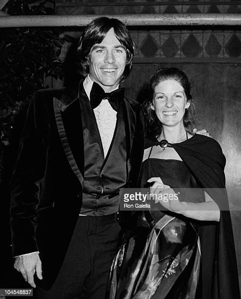 Actor Richard Hatch and date attend 36th Annual Golden Globe Awards on January 27 1979 at the Beverly Hilton Hotel in Beverly Hills California
