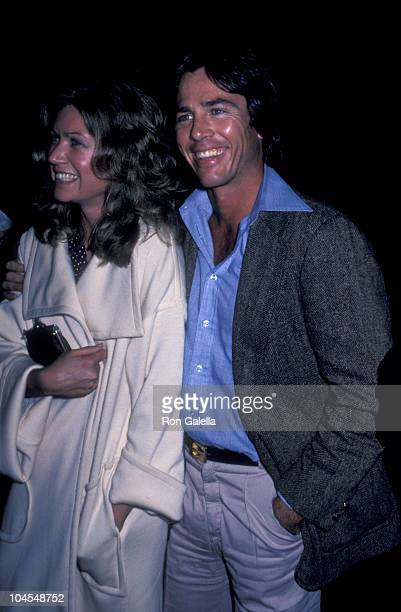 Actor Richard Hatch and date attend the premiere of 'Nijinsky' on March 20 1980 at the Cineplex Odeon Cinema in Century City California