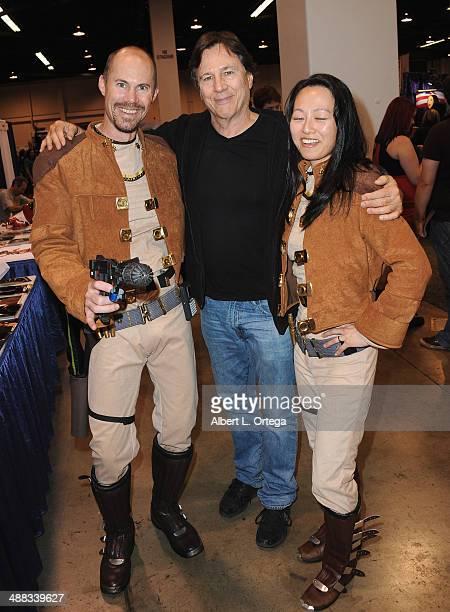 Actor Richard Hatch attends WonderCon Anaheim 2014 Day 2 held at Anaheim Convention Center on April 19 2014 in Anaheim California