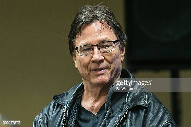 Actor Richard Hatch talked about his upcoming film Diminuendo at Dragon Con on September 3 2016 in Atlanta Georgia