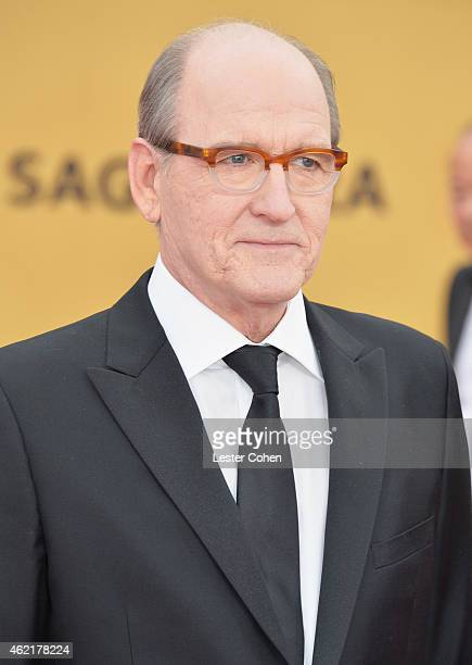 Actor Richard Jenkins attends the 21st Annual Screen Actors Guild Awards at The Shrine Auditorium on January 25 2015 in Los Angeles California