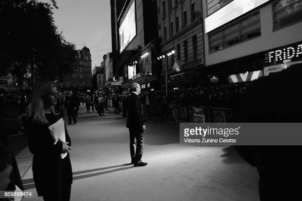 Actor Richard Jenkins attends the American Airlines Gala and UK Premiere of 'The Shape Of Water' during the 61st BFI London Film Festival on October...