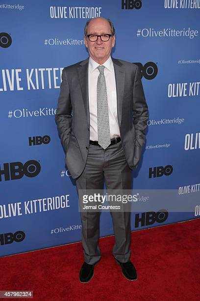 Actor Richard Jenkins attends the 'Olive Kitteridge' New York Premiere at SVA Theater on October 27 2014 in New York City