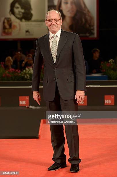 Actor Richard Jenkins attends the 'Olive Kitteridge Parts 34' premiere during the 71st Venice Film Festival at Sala Grande on September 1 2014 in...
