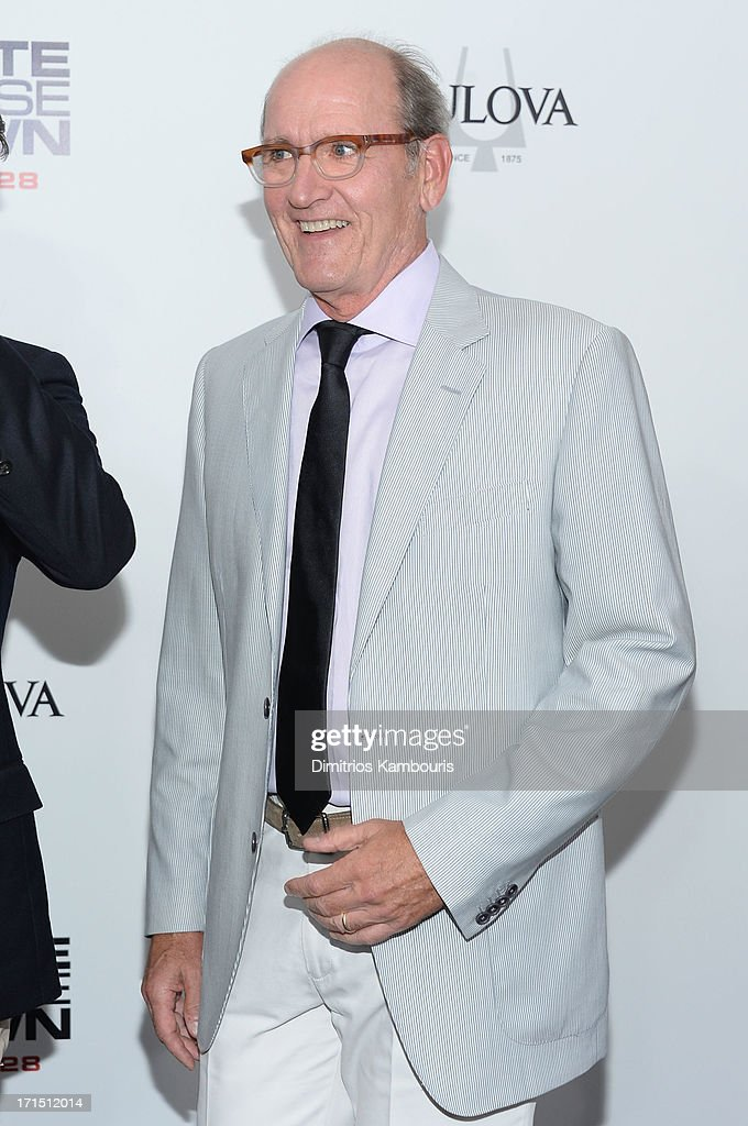 Actor Richard Jenkins attends the 'White House Down' New York premiere at Ziegfeld Theater on June 25, 2013 in New York City.